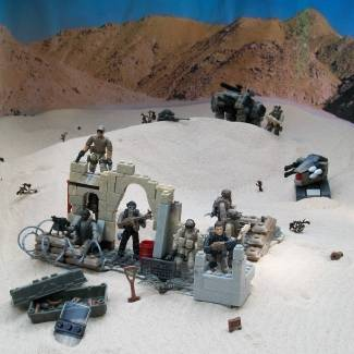 Image of: Desert outpost No. 37...