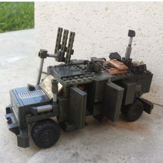 Image of: Bison MPCV (Mine Protected Clearence Vehicle)