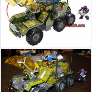 Image of: Halo Wars UNSC Gremlin, a ground-up game accurate rebuild!