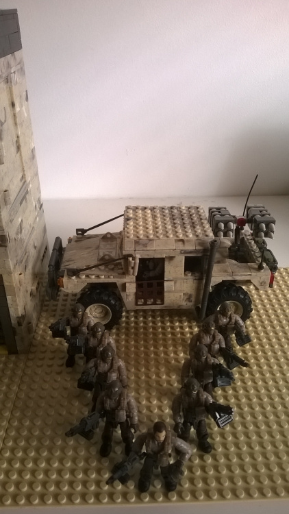 Image of: Desert Command Outpost V3