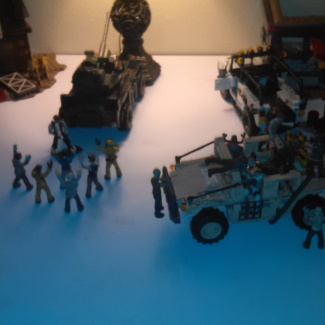 Image of: Zombies tranzit diner rounds 80, 81, 82, 83, 84