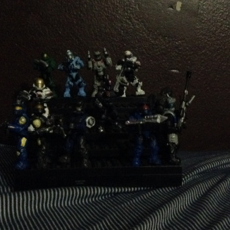Image of: All of my halo costoms I have ever created