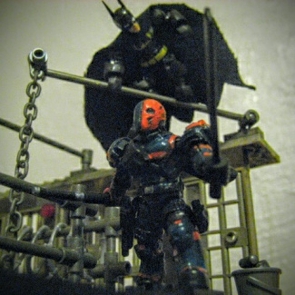 Image of: Deathstroke, who is hunting who?...