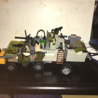 Image of: Mobile Command Unit -PROTOTYPE- (Pictures Part 1)