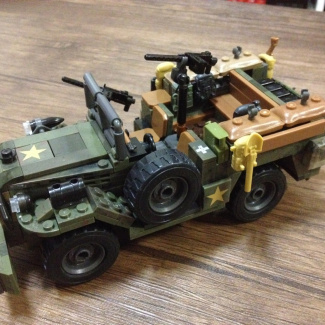 Image of: Dodge WC-52. My first attempt.