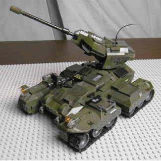 Image of: UNSC M808 Scorpion Tank Halo Reach custom