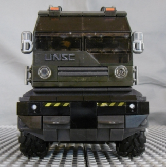Image of: Prime Mover IV custom MB Halo Tractor, more tasty details...
