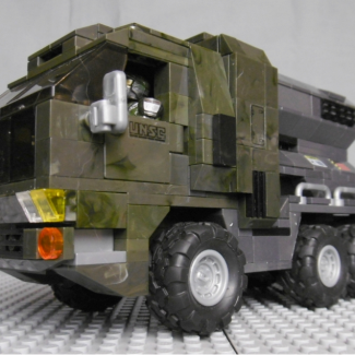 Image of: Prime Mover II another Halo themed UNSC Cargo Truck