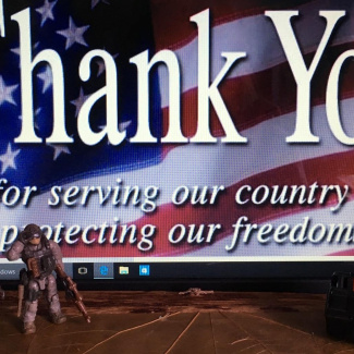 "Image of: Holiday Special - ""Supporting The Vets"" - Veterans Day"