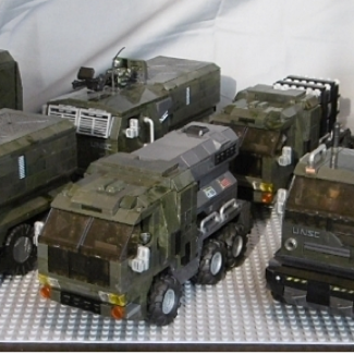Image of: The 151st UNSC Logistics Operations Battalion, Ground Unit #2