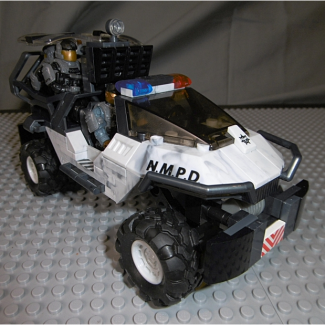 Image of: Detailing the new MB Halo NMPD Warthog...