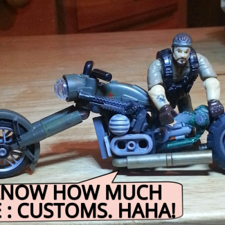 Image of: CAMO DAYS.  CUSTOM RIDES