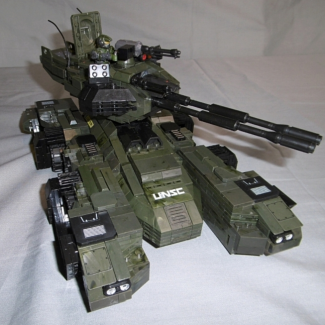 Image of: Some more (close-up) views of my custom Grizzly MBT...