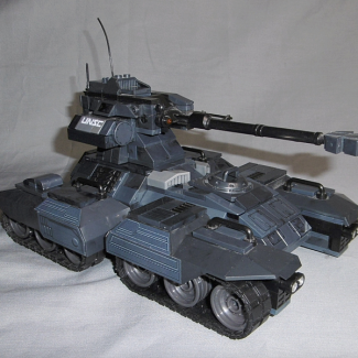 Image of: Halo Wars Rebuild of the ODST Scorpion from Covenant Invasion
