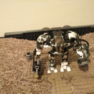 Image of: Rebel controlled Heavy Weapons Cyclops w/ Cyclops Aireal Pack upgrade