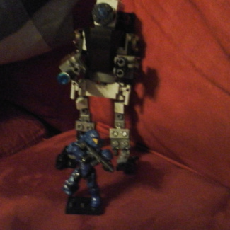 Image of: Christmas  build  off: unsc  reindeer  2.0 / sentry  bot