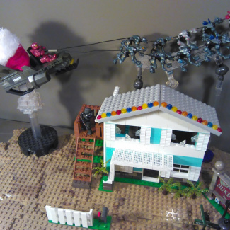 Image of: Miracle on Trinity Ave. MOC