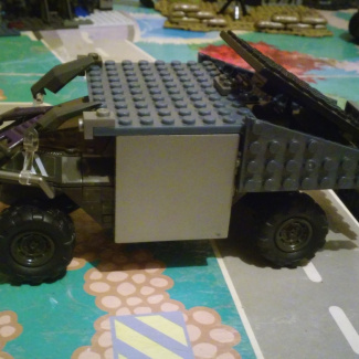 Image of: 4x4 build off entry: armored warthog