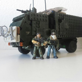 "Image of: 4x4 Buildoff: M1078 ""Scrap Heap"""