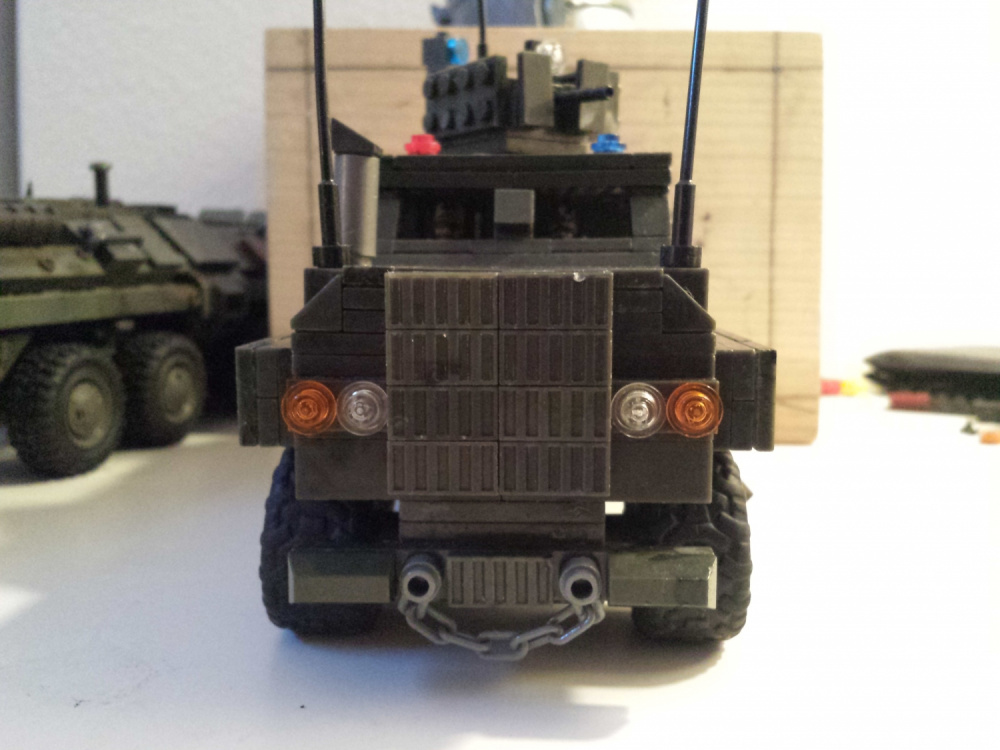 "Image of: 4x4 build off: ""Hunter"" Heavy Armored Patrol Vehicle"