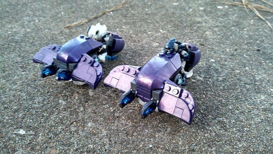 Mega Construx | Fan Gallery | Halo 4 ghost mod