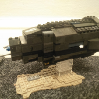 Image of: Custom Halcyon-class assault ship 'Quadrant of Solace' from spartan story.