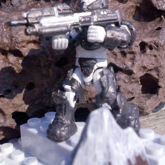 Image of: time wars : bad guy build off :  snow bound spartan