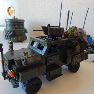 Image of: 4x4 buildoff: MRAP