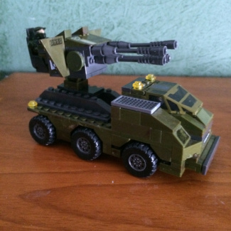 Image of: Remix & Match- UNSC Mobile Turret