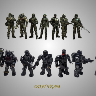 Image of: ODST Team