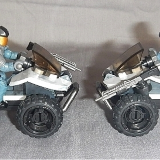 Image of: Halo 3 NMPD Mongoose custom, New Mombassa build-off entry