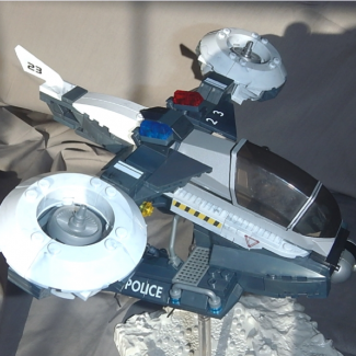 Image of: A rebuild of the MB Halo NMPD Police Hornet- New Mombassa build-off entry