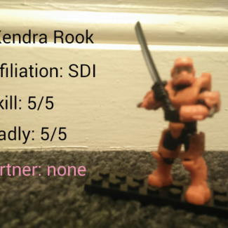 Image of: Spartan Story, Kendra Rook