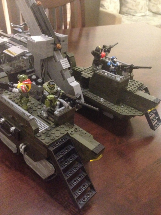 Image of: Halo Elephant revision, ELEPHANT SUPPORT BATTERY (PART 1)