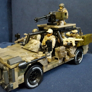 Image of: Ranger special operations vehicle.