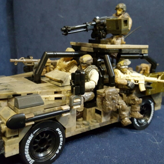Image of: Ranger special operations vehicle version 2