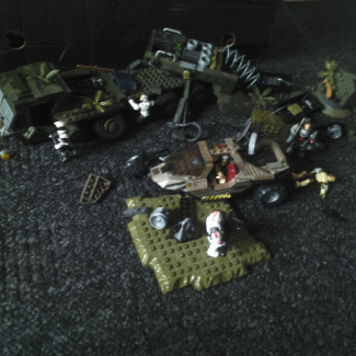 Image of: Lost convoy