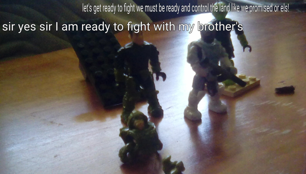 Image of: Brothers in arms part 6 war is coming