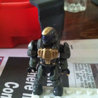 Image of: Custom Golden ODST