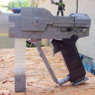 Image of: Life Size Halo 3 Magnum