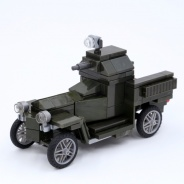 World War I Rolls Royce armored car (green version)