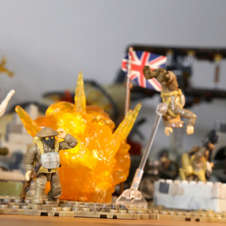 Image of: Ultimate Battlefield 1 diorama (Close-ups)