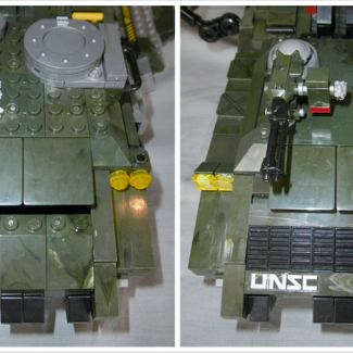 Image of: UNSC Kodiak Rebuild, Part 2 Before And After...