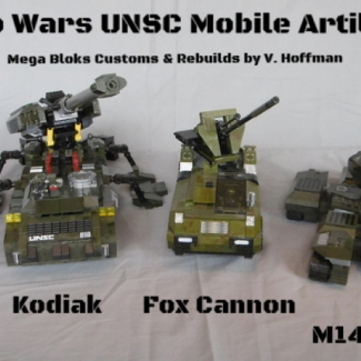 Image of: The Big Guns! Halo Wars Mobile Artillery
