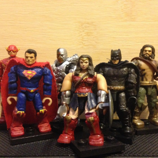 Image of: The Justice League