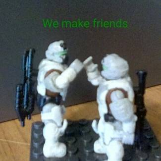 Image of: A message from the master chief