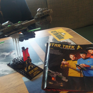 Building with Cooper - KLINGON D7 BATTLE CRUISER