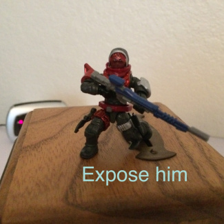 Image of: Expose him