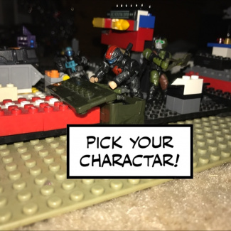 Image of: Pick your charactar