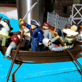 Image of: CREED DAYS. CROSSING THE DELAWARE